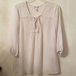 KRAZY KAT Sheer blouse